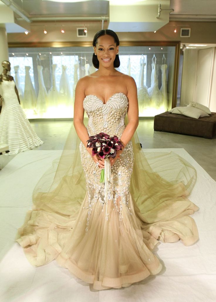 Nigerian Celebrity Wedding Dresses : Ideas about african wedding dress on