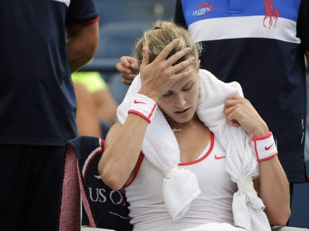Article from National Post (April 22, 2016): Tackling Canada's concussion epidemic head on: 'Patients are really still in the dark' - from  Vicki Hall - A concussion sidetracked the season of Canadian tennis player Eugenie Bouchard last year. (Photo Charles Krupa/The Canadian Press)