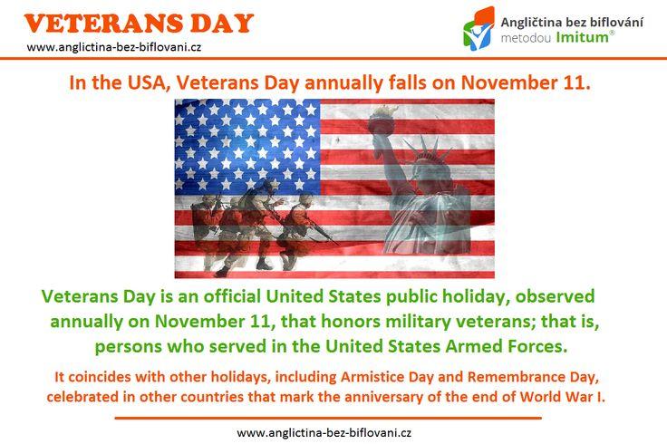 Kromě svátku svatého Martina si dnes připomínáme také Mezinárodní den válečných veteránů. Tento den se slavil již dříve po celém světě, ale v ČR byl uznán až roku 2001. Kryje se s koncem bojů 1. světové války.   ✌ #11thnovember #veteransday #endofthefirstworldwar