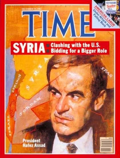 Time - Hafez Assad - Dec. 19, 1983 - Syria - Middle East