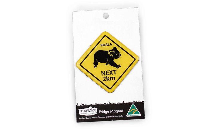 Roowho Road Sign - Koala