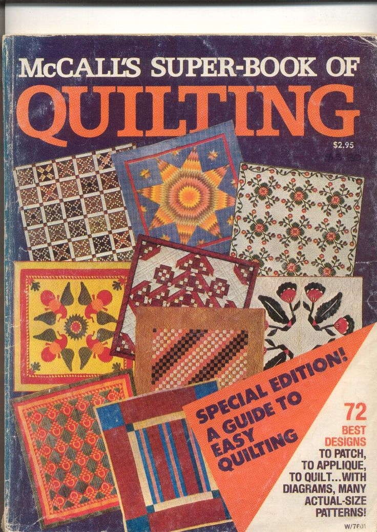 McCalls Super-Book of Quilting Vintage Quilting Magazine by kayeiansbooks on Etsy