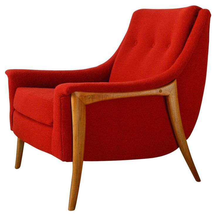 adrian pearsall style mid century modern lounge chair - Midcentury Cafe 2015
