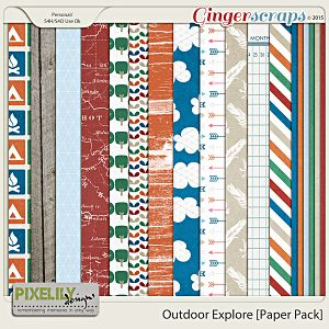 Outdoor Explore [Paper Pack]