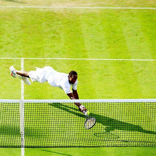 Gael Monfils - Wimbledon 2014 @JugamosTenis