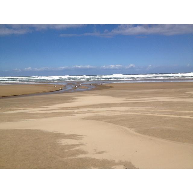 Noetzie beach, 30 min outside of Plettenberg Bay