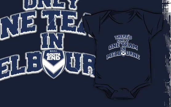 Melbourne Victory FC - Baby Onesie
