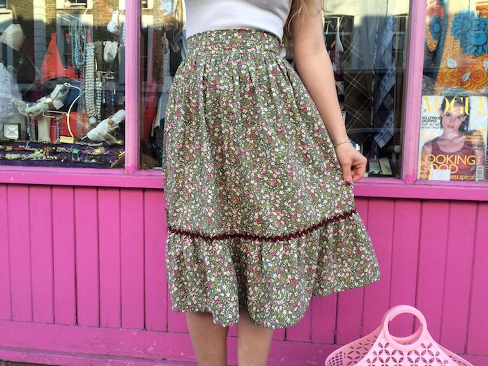 How to sew a two-tier gathered skirt – By Hand London