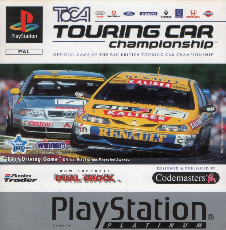 TOCA Touring Car Championship PSX cover