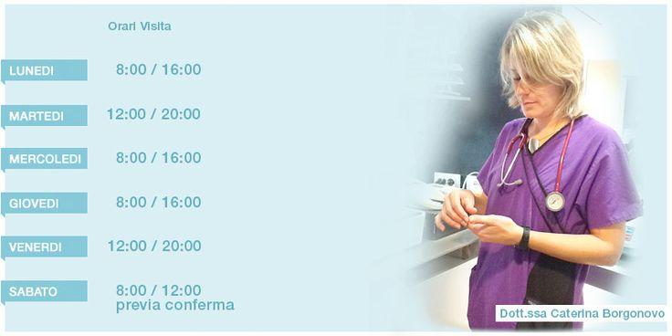 Dott.ssa Caterina Borgonovo Oncologia - Medicina Interna - Citologia  Medicina d'Urgenza
