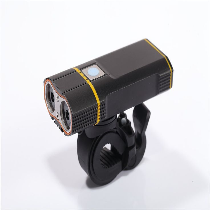 Waterproof Bicycle Light 2XM-L U2 LED Cycling Lamp Bicycle Bike Light Head front Lights Flashlight Back Rear Light with Holder