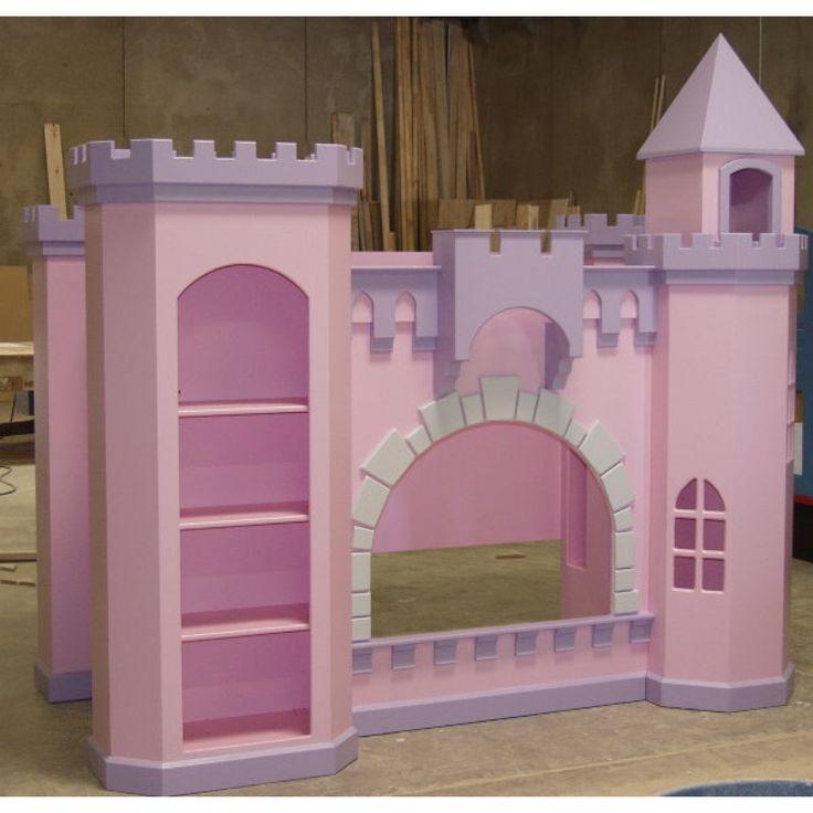 17 best ideas about castle bed on pinterest princess for Princess bed blueprints