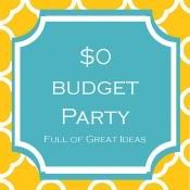 $0 Budget Party - craft ideas for 'nuttin!  ;)