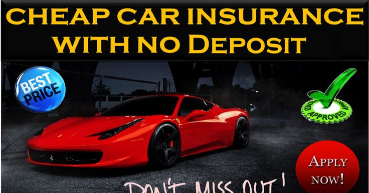 Can You Buy A Car Without A Drivers License >> 17 Best images about Get No Deposit Car Insurance on Pinterest | Day car insurance, Cheap cars ...