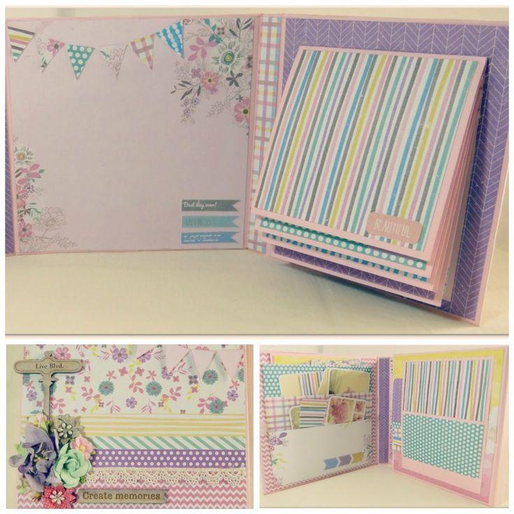 Mini album simply pastel