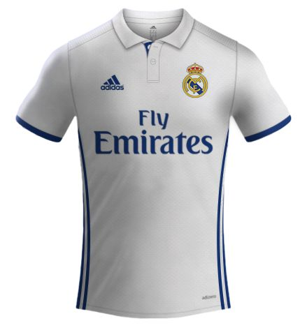 REAL MADRID ADIDAS 2016/2017 | LK Camisas