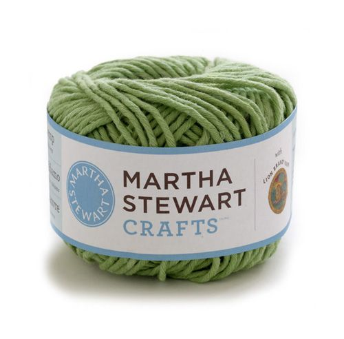 Martha Stewart CraftsTM/MC Cotton Hemp Yarn  Article # 5700  This versatile natural blend—soft, absorbent, and machine-washable—is a smart choice for garments, knit or crochet baby blankets, and even household projects like washcloths, place mats, and dish towels. It works up nicely on the loom.    NOTE: This yarn is not yet available. Please look out for an announcement this fall.