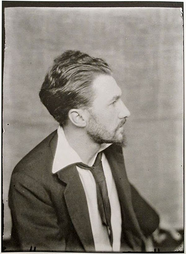Image credit: Man Ray    Ezra Pound, Paris, 1923