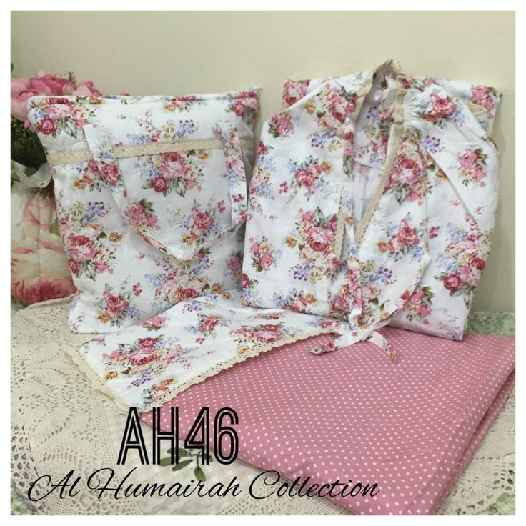 Al Humaira Telekung Cotton – AH46  RM150.00  – Telekung cotton with printed design  – Special vintage style design  – Japanese cotton material  – Face size up to L size  – Set includes beautiful handmade bag & mini sajaddah  – Limited pieces  http://www.telekung.co/product/ah46/