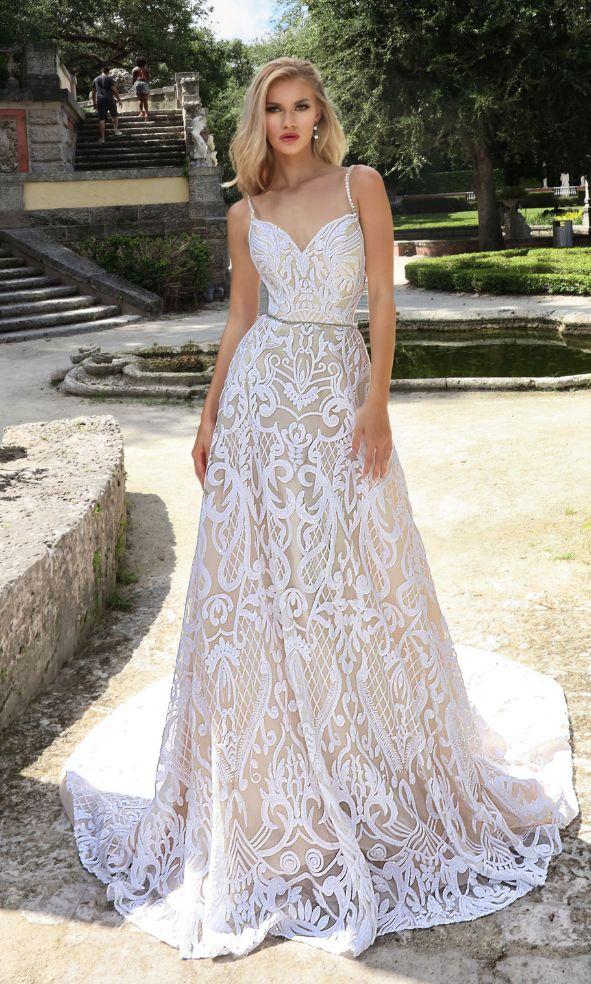Courtesy of Ashley & Justin Bride Wedding Dresses; www.ashleyjustinbride.com