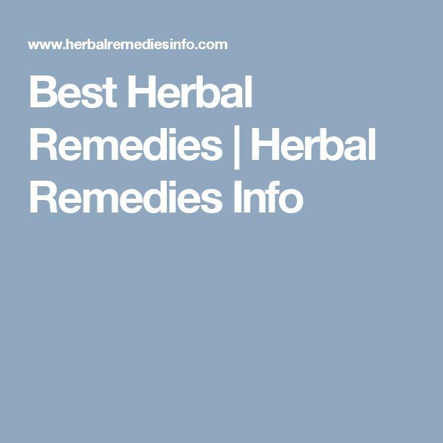 Best Herbal Remedies | Herbal Remedies Info