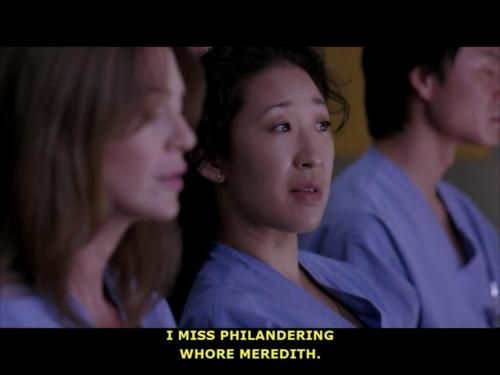 17 Best images about You're the Meredith to my Christina ...
