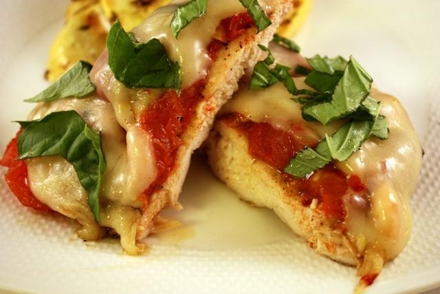 Grilled Chicken Parmesan | Food | Pinterest