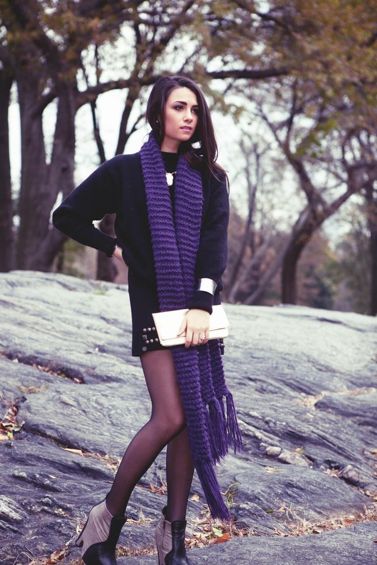 #purple #fashion