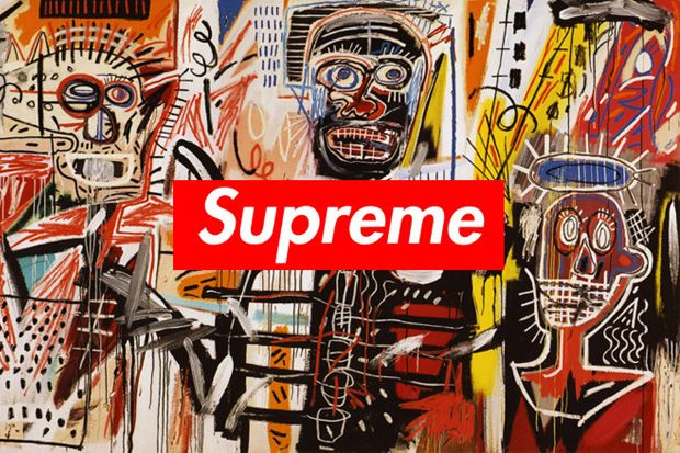 Rumor: Supreme to Release Collection Featuring Basquiat's Artwork.  Rime just did an event with reebok/basquiat -look at rime-journal for details