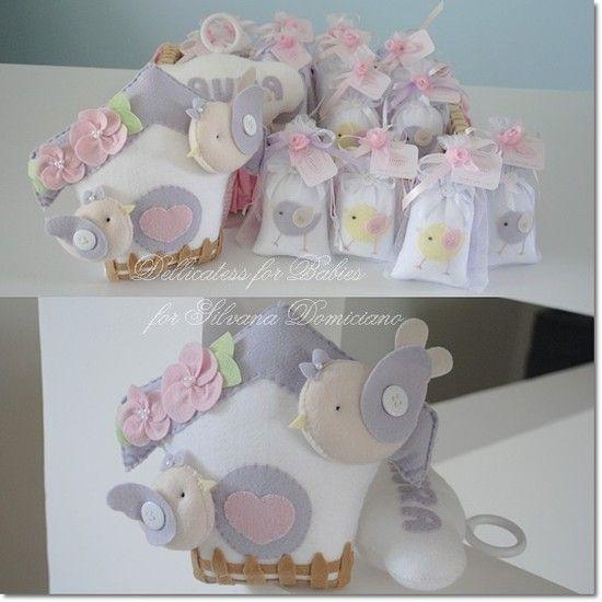 Kit maternidade passarinho - Dellicatess for Babies