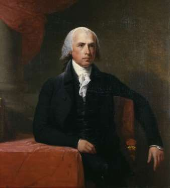 Portrait of James Madison - Universal History Archive/UIG/Getty images