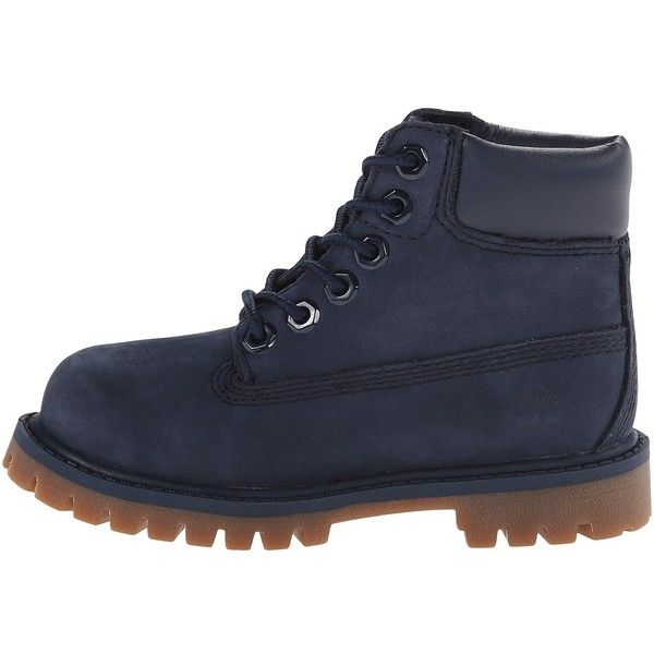 "Timberland Kids 6"" Premium Waterproof Boot (Toddler/Little Kid) (94 CAD) ❤ liked on Polyvore featuring shoes"