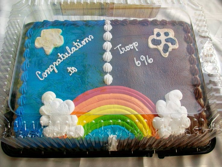 Cake Ideas For Girl Scouts : 15 best images about Bridging on Pinterest Vests, The ...