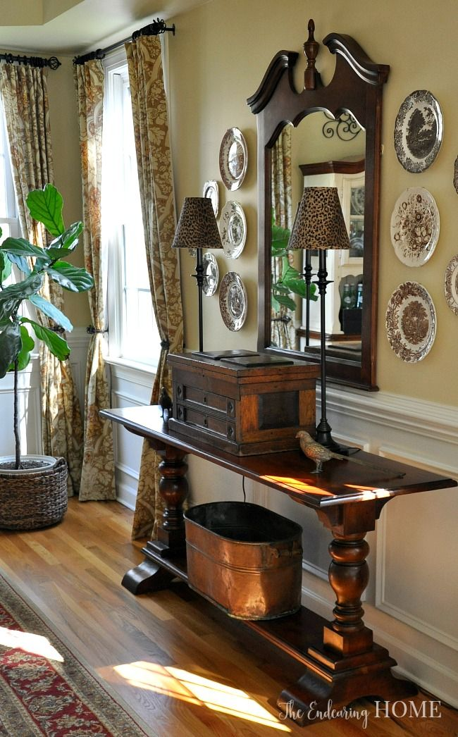Best Foyer Decorating Images On Pinterest Foyer Decorating