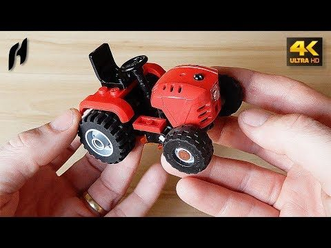 (57) How to Build a Garden Tractor with Rotary Mower (MOC - 4K) - YouTube