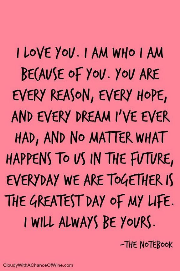 You are forever my always!