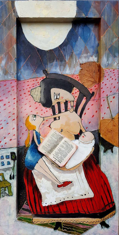 "Saatchi Art Artist Karda Zenkő; Painting, ""Breast milk"" #art"