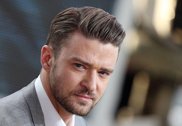 justin timberlake modern pompadour hairstyle