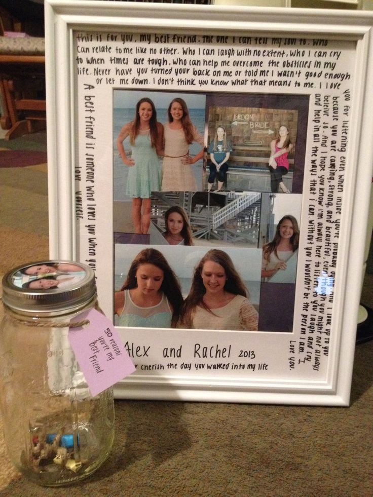 Best friend gift when going off to college! #college #gifts #bestfriends: