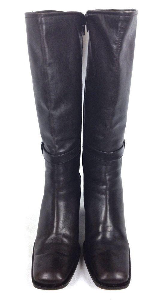 Ralph Lauren Shoes Womens Brown Leather Boots 6.5 #RalphLauren #FashionKneeHigh #WeartoWork