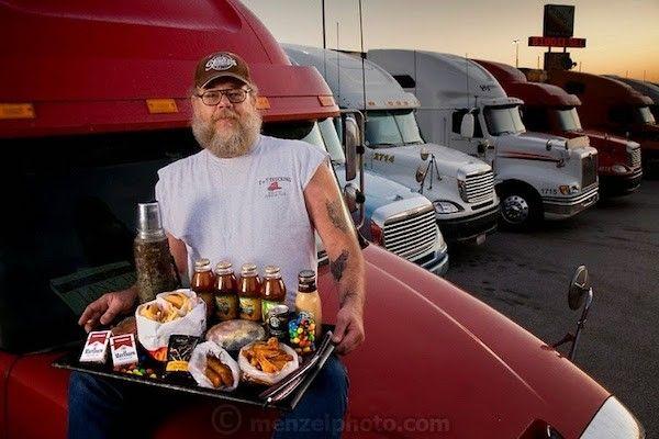 Conrad Tolby, chauffeur de camion, Illinois-5400 Calories