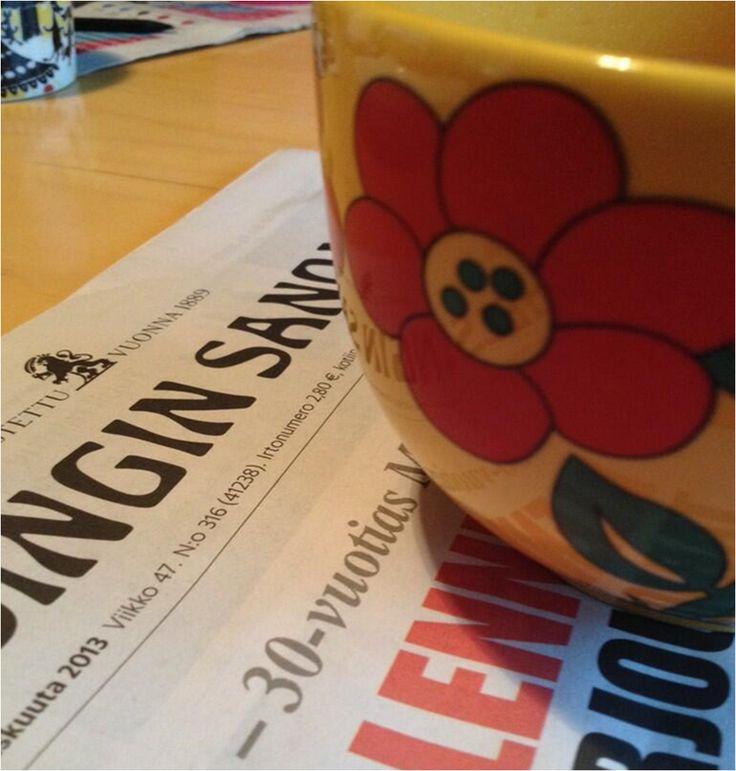 Ekassa kesätyöpaikassani pomo käski lukea paikallislehdet tarkasti. #ylelle kesätoimittajahaku käynnissä! by @tuuliathynell