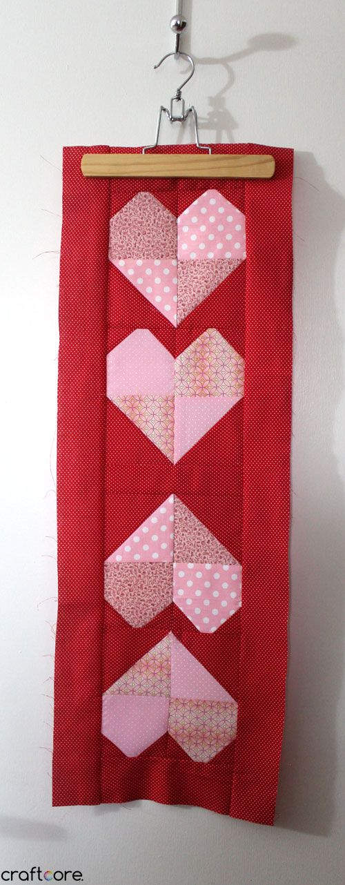 347 best images about Heart Quilts on Pinterest Quilt, Valentine heart and Heartstrings