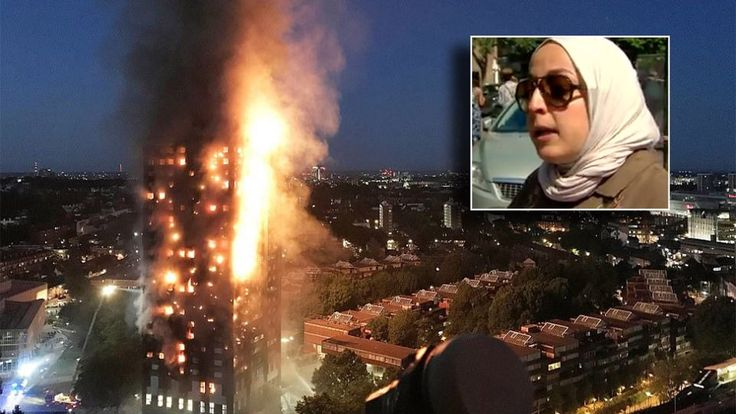 London Grenfell Tower fire: Mother drops baby from 10th floor - Yahoo7