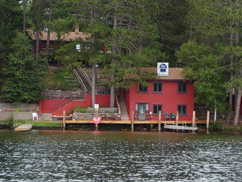 The Pine Point Lodge in Northern Wisconsin.