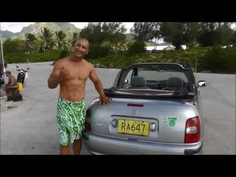 """Nissan March Convertible Rental Car Demo -  """"GO TOPLESS"""""""
