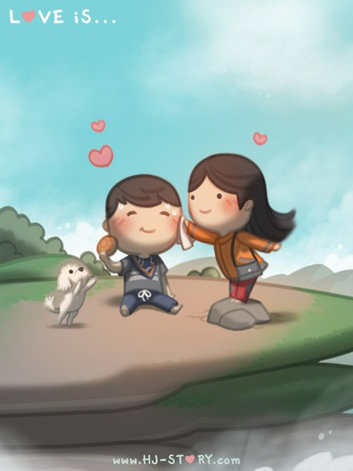 """Check out the comic """"HJ-Story :: Simple Little Things"""" http://tapastic.com/episode/8381"""