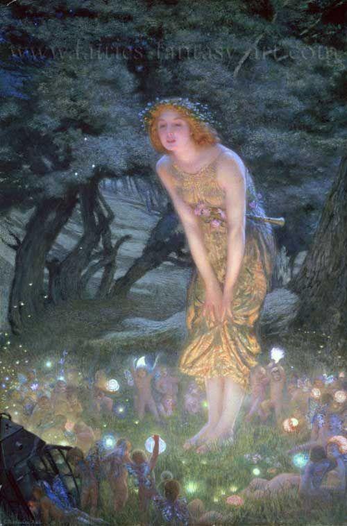 Midsummer Night Celebrations in England