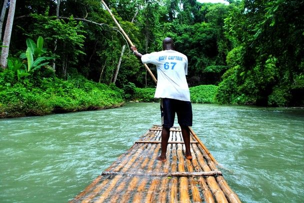 A bamboo raft ride in Jamaica is well worth it!  I even got to steer for awhile.    Google Image Result for http://travel.nationalgeographic.com/u/H6yMi6fUB_1JR964xxG8RxsYArlNNn1lR5PWutchJjTvXpUFTyQt2xma-_uFTXcuYiQvOLPWMgE7/