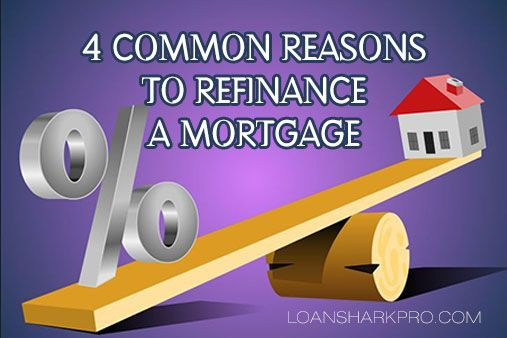 4 Common Reasons to Refinance a Mortgage - Refinancing a mortgage is essentially paying off your existing mortgage and taking out a new one at a lower interest rate, typically decreasing the amount of your payments. You may also opt for a shorter-term …